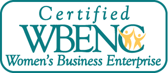 This is a Certified Women's Business Enterprise WBENC