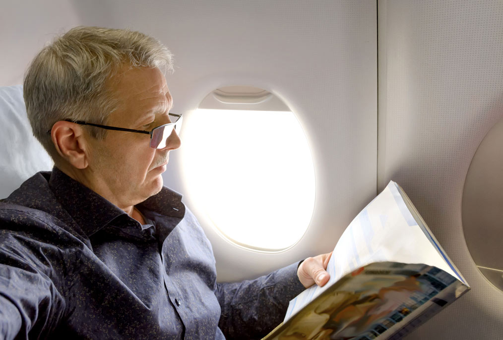 Onboard Media delivers thousands of magazines and newspapers a week to domestic and international airlines